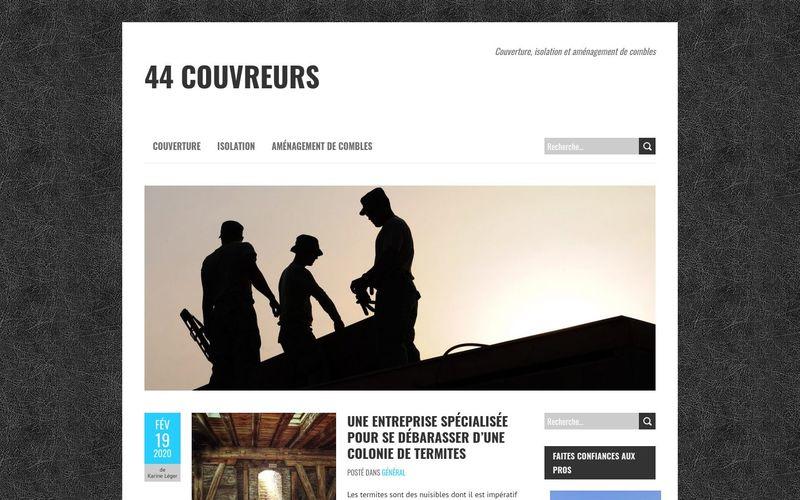 44 couvreurs - Couverture, isolation et aménagement de combles